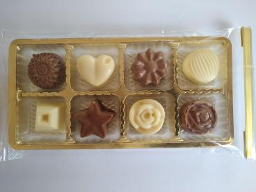 Handgefertigte Schokoladen-Pralinés 80g - ohne Alkohol